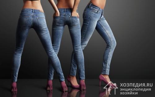 Как сделать, чтобы сели джинсы на размер меньше. Советы