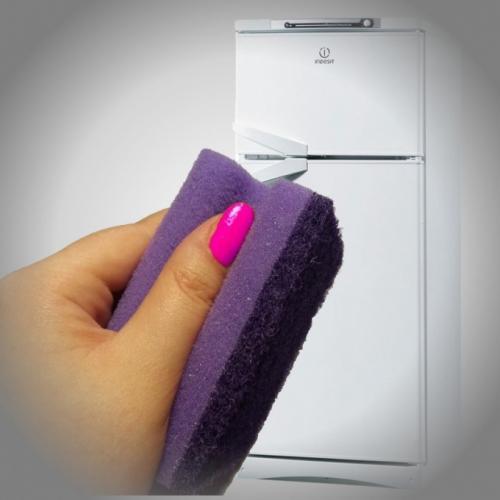 Как очистить холодильник от наклеек в домашних условиях. Как убрать наклейку с холодильника