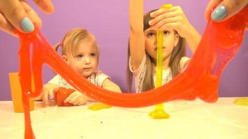 Как снять лизуна с волос ребенка. Лизун — забавная игрушка. Как снять его с волос ребенка, если слайм прилип?