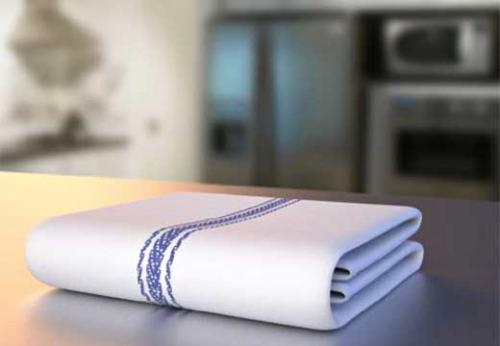 Как отбелить кухонные полотенца в домашних условиях без кипячения. Как вернуть белизну кухонным полотенцам в домашних условиях